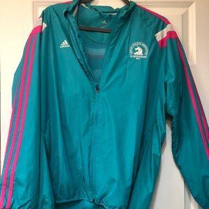 Brand new Adidas Boston marathon track jacket